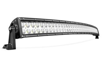 Super Bright 54 Inch Curved LED Light Bar , 312W 4x4 LED Driving Lights